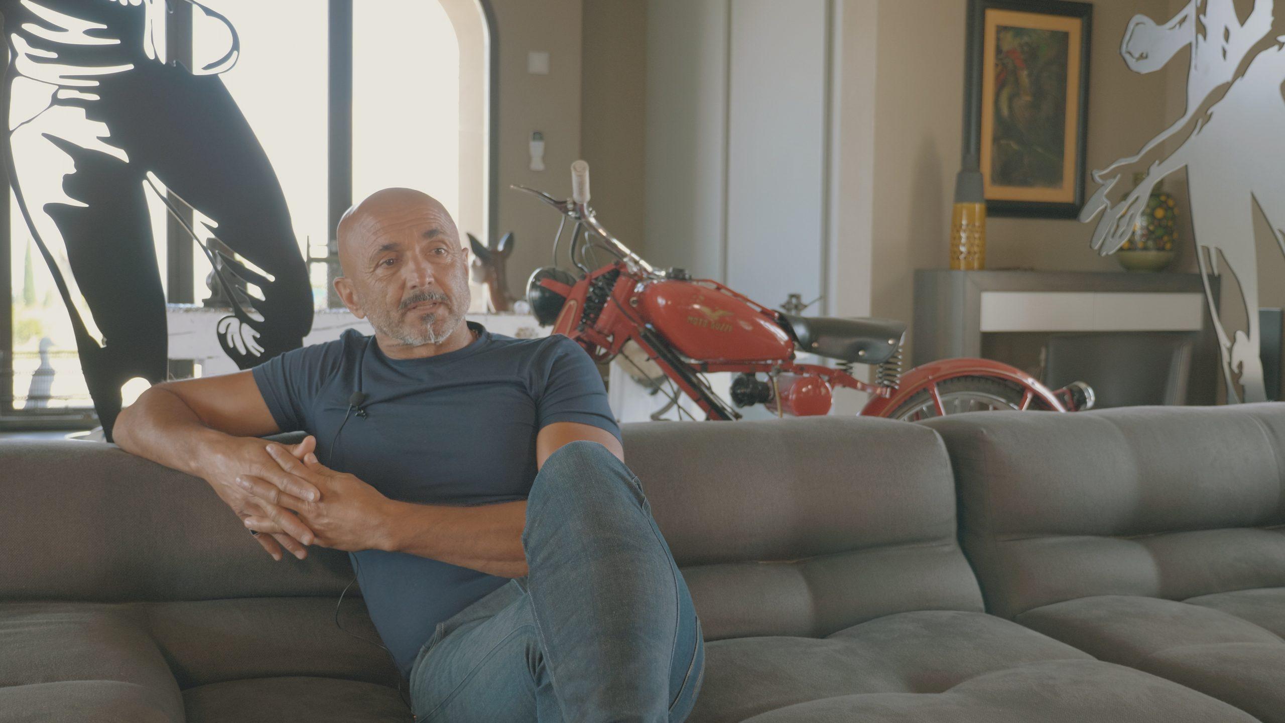 """Luciano Spalletti racconta """"La Rimessa Experience"""""""